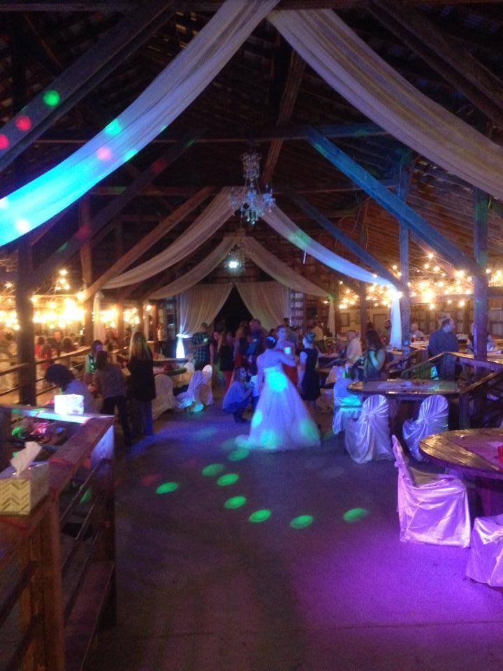 T-Bone Disc Jockey | 2 Of My Favorite Wedding Barns In ...